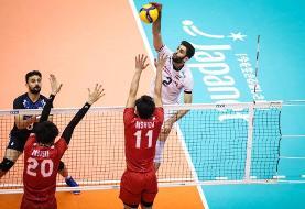 همگروهی ایران و چین در والیبال  انتخابی المپیک + برنامه مسابقات