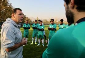 تیم ملی آماده اعزام به امان شد