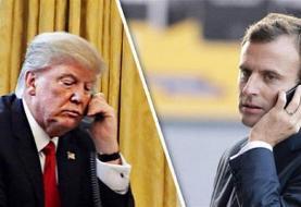 گفتگوی تلفنی ماکرون و ترامپ در باره ایران