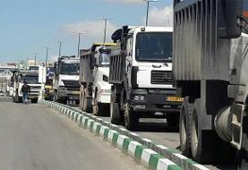 تردد کامیون در تهران تا پایان هفته ممنوع است