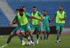 گزارش تصویری تمرین تیم ملی فوتبال ایران در امان