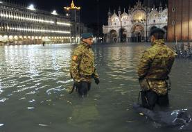 افزایش سطح آب در ونیز دو کشته داد