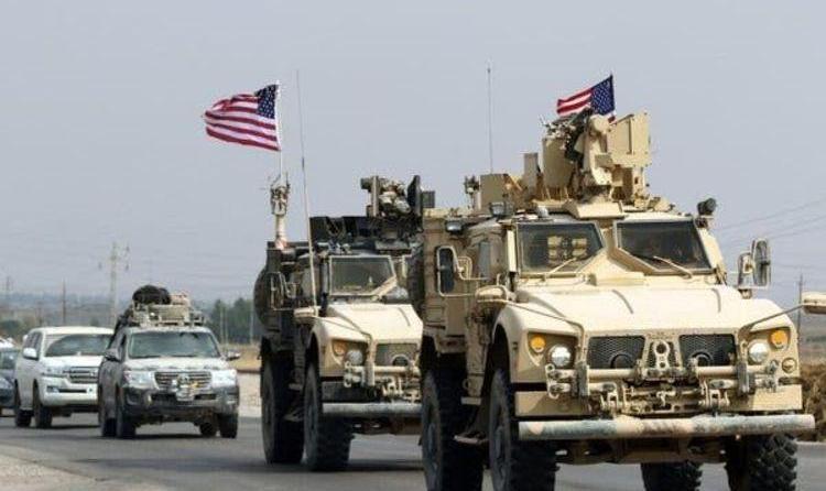 آمریکا نیروهای نظامی خود را با دست پس میزند و با پا پیش میکشد!