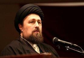 کنایه سیدحسن خمینی به رهبران خائن و نادان برخی کشورهای اسلامی/نفاق، جامعه اسلامی را چندپاره میکند
