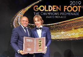 جایزه پای طلا برای لوکا مودریچ (عکس)