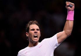 بازگشت فوقالعاده نادال در شب صعود سیتسیپاس به نیمه نهایی تور ATP لندن