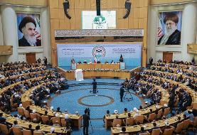 روحانی: هدف آمریکا از حضور در منطقه تاراج نفت و منابع مسلمان است