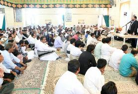 صلح و سازش دو طایفه بشاگردی پس از هشت سال به مناسبت هفته وحدت