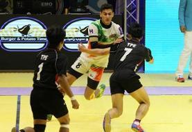 راهیابی تیم کبدی ایران به مرحله نیمهنهایی جوانان جهان