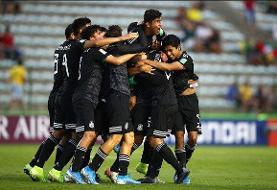مکزیک نخستین فینالیست جام جهانی فوتبال زیر ۱۷ سال شد