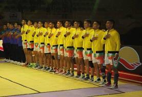 صعود کبدی جوانان ایران به نیمه نهایی قهرمانی جهان