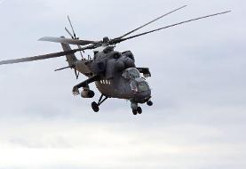 استقرار بالگردهای روسیه در شمال سوریه + فیلم و عکس