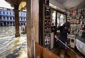 ایتالیا برای سیل در ونیز وضعیت اضطراری اعلام کرد