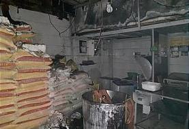 سوختن نانوایی در بلوار فردوس