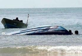 تصادف دو قایق در منطقه مرزی دریای خزر
