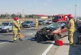 ۲۸ کشته در پی حادثه رانندگی در سیستان و بلوچستان