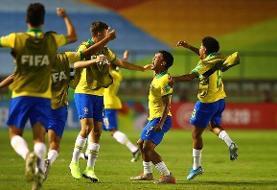 برزیل با یک بازگشت، فینالیست جام جهانی زیر ۱۷ سال شد