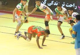 صعود ایران به فینال کبدی جوانان جهان/ مصاف با کنیا برای قهرمانی