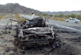 برخورد ۲ دستگاه وانت حامل اتباع بیگانه غیرمجاز در مسیر سراوان - خاش ۲۸ کشته و ۲۱ مجروح برجا گذاشت