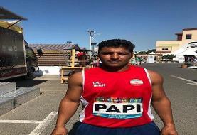 نماینده ایران سهمیه بازیهای پارالمپیک توکیو را کسب کرد