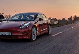 سرعت تسلای مدل ۳ در زیر ۳ ثانیه از صفر به ۱۰۰ کیلومتر در ساعت میرسد
