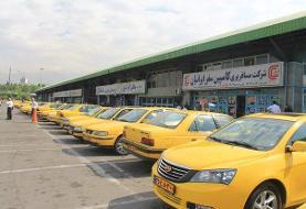 کرایه تاکسیهای بین شهری فعلا افزایش نمییابد