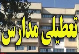 تعطیلی مدارس ۹ شهرستان خوزستان