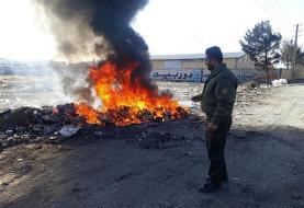 گشتهای شبانه محیط زیست در تهران به راه افتاد: ضایعات سوزی «جرم» است