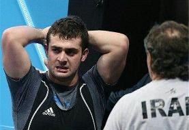 خداحافظی جوان اول ایران در المپیک ٢٠١٢ از دنیای وزنهبرداری