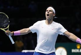ATP Finals: Nadal defeats Tsitsipas
