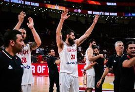 ابراز رضایت گرامیپور از حضور در تیم ملی بسکتبال ایران