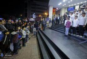 اکران ویژه فیلم سینمایی منطقه پرواز ممنوع / گزارش تصویری