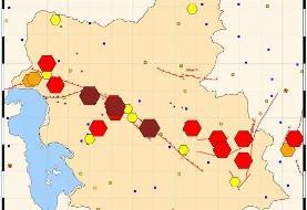 ثبت ۱۱ زلزله بزرگتر از ۴ در کشور/رخداد بیشترین زمینلرزههای مهم در استانهای فارس و هرمزگان