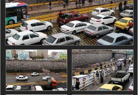 ترافیک چندصدمتری در بزرگراه امام علی (+عکس)