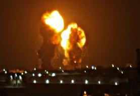 ارتش اسرائیل مواضع حماس را در نوار غزه بمباران کرد