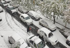 برف مسئولان شهری را غافلگیر نکرد اما تهران قفل شد!