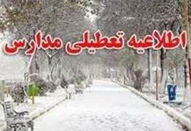 کلیه مدارس استان تهران تعطیل شد