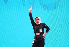 اولین مدال بانوی وزنهبردار ملیپوش ایران