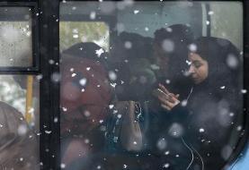 پیشبینی بارش در اغلب مناطق کشور/ شدت برف در تهران