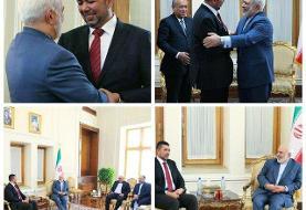 دیدار فرستاده ویژه نخست وزیر مالزی با ظریف