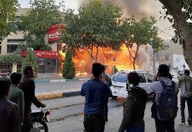 آمارهای خبرگزاری فارس از اعتراضات | شمار معترضان و بازداشتیها | تخریب ۱۰۰ بانک و غارت ...