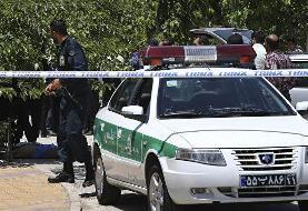 کشته شدن یک مامور انتظامی در جریان اعتراضات ایران