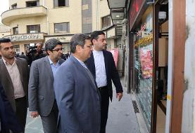 بازدید سرزده رییس بانک مرکزی از صرافی های میدان فردوسی (عکس)