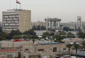 برخورد دو موشک در نزدیکی فرودگاه بغداد