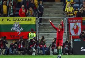 پرتغال با شکست لوکزامبورگ صعود کرد/فاصله رونالدو با دایی ۱۰ گل شد