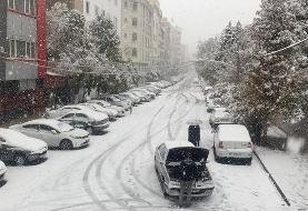 عزل شهردار ناحیه به دلیل قصور در برف روز گذشته