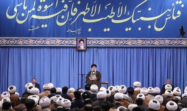 Iran's Khamenei backs fuel price hike, blames 'sabotage' for unrest