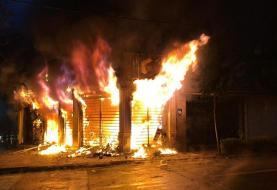 خبرگزاری فارس: بیش از ۱۰۰ بانک و فروشگاه غارت شد