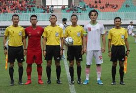 نورافکن: تقابل با اندونزى به ما یاد داد در فوتبال نامها بازى نمىکنند