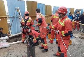 سقوط مرگبار کارگر به چاه (+تصاویر)